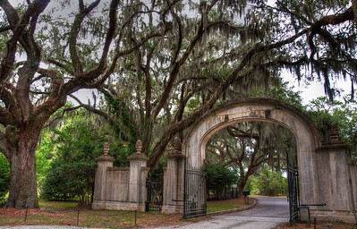 wormsloe-entrance-gate