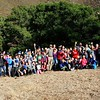 Group photos. <br /> Part of a Conservation Collaboration Agreement:<br /> Joaquin Moraga Intermediate School (JMIS), Bedell Frazier Investment Counseling, LLC (Bedell Frazier), and Save Mount Diablo (SMD).<br /> Participants: students, instructors and chaperones from JMIS, Bedell Frazier staff, SMD staff and volunteers, and Judy Adler with Judith F. Adler & Associates.<br /> Nov. 9, 2017