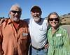 Ron Brown, Dick Heron, Julie Seelen