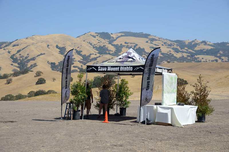 Setup on Saturday, Sep. 10, 2016<br /> Moonlight on the Mountain <br /> Save Mount Diablo <br /> Mount Diablo State Park, CA