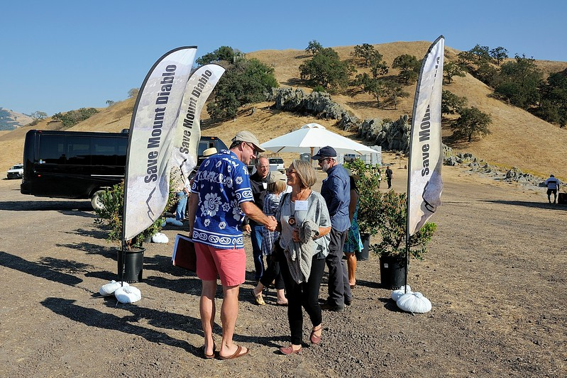 Moonlight on the Mountain - 2017 <br /> China Wall - Mt. Diablo State Park <br /> Save Mount Diablo <br /> Sept. 9, 2017