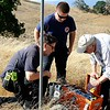 Radio communication repeater station.<br /> San Ramon Valley Fire Protection District <br /> Moonlight on the Mountain - 2017 <br /> Save Mount Diablo <br /> Sept. 9, 2017