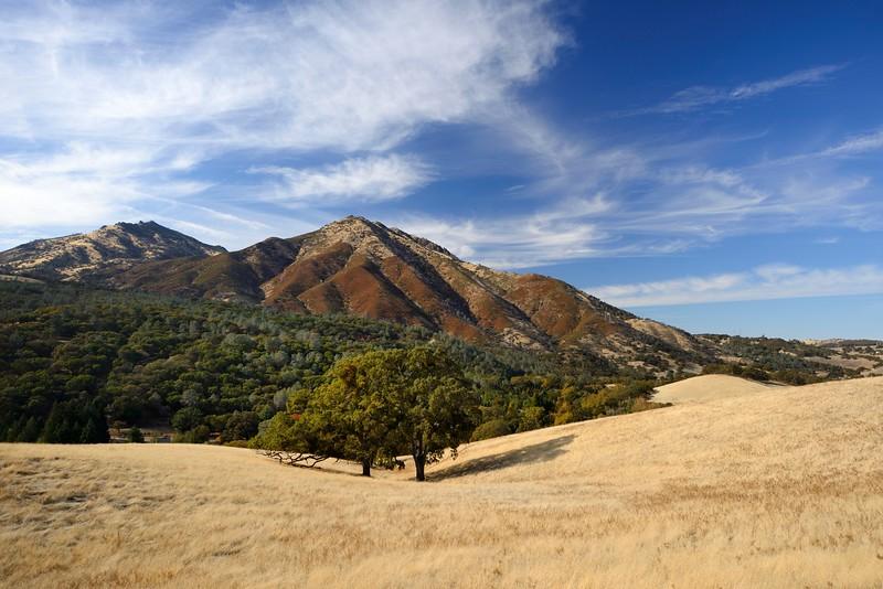 Mount Diablo from Leon Dr. <br /> Nov. 14, 2017