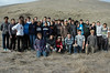 Group photo of all the workers, with SMD Land Conservation Associate George Phillips.