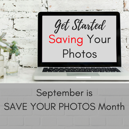 Get started saving your photos Social Graphic Square