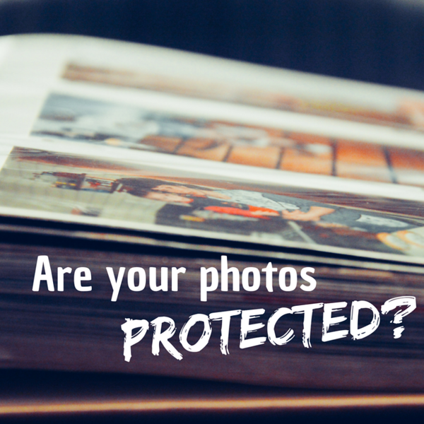 Are Your Photos Protected Social Graphic Square