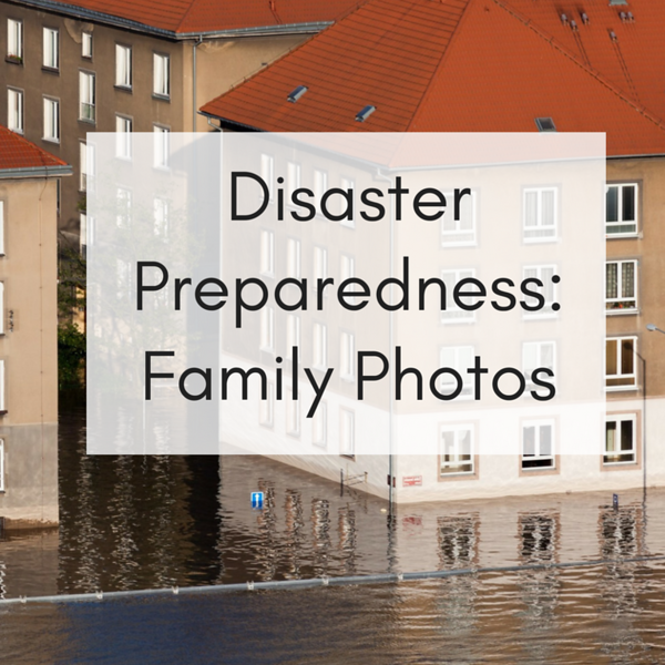 Disaster Prep for family photos Social Graphic Square