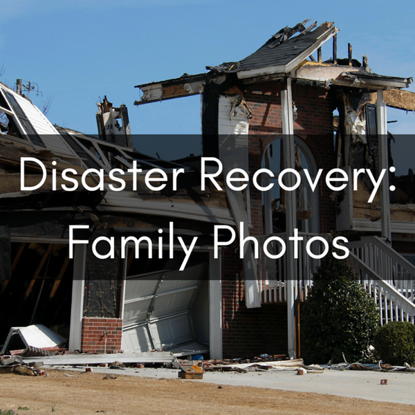 Disaster recovery for family photos Social Graphic Square