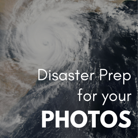 Disaster Prep for your photos Social Graphic Square