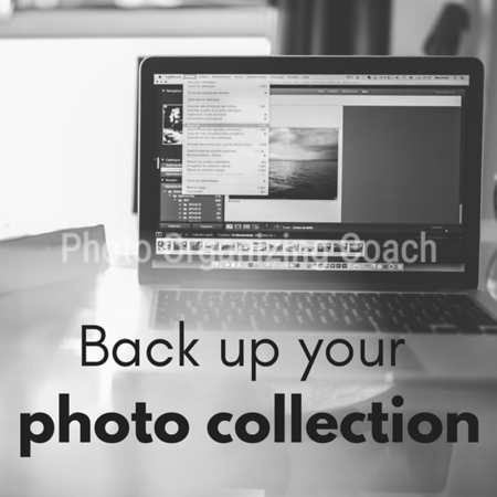 Back up your photo collection Social Graphic Square