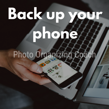 Back up your phone Social Graphic Square
