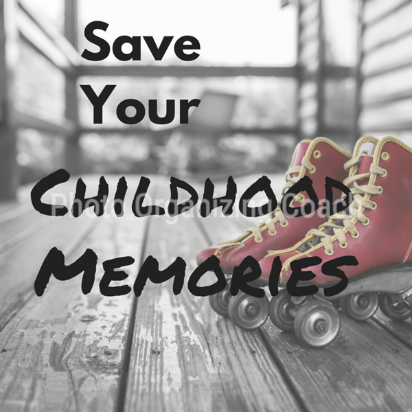 Save your childhood memories Social Graphic Square