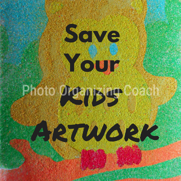 Save your kid's artwork Social Graphic Square