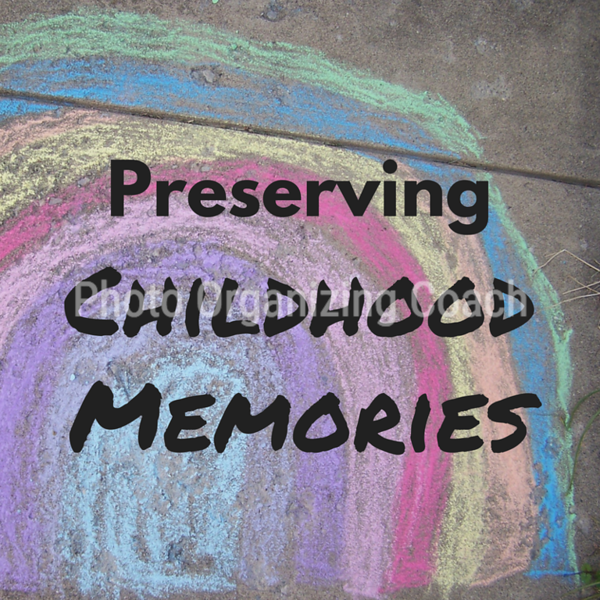 Preserving childhood memories Social Graphic Square