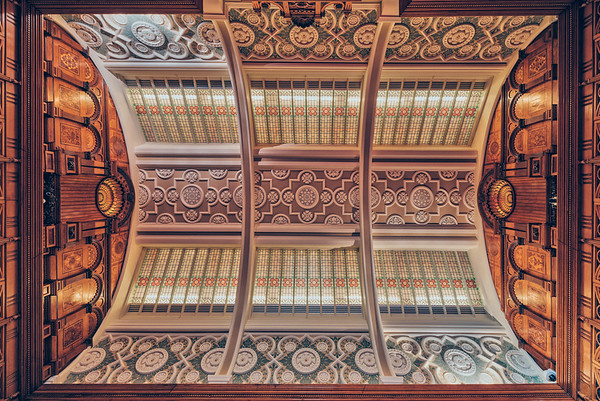 Library Roof, Shakespearian Ceiling