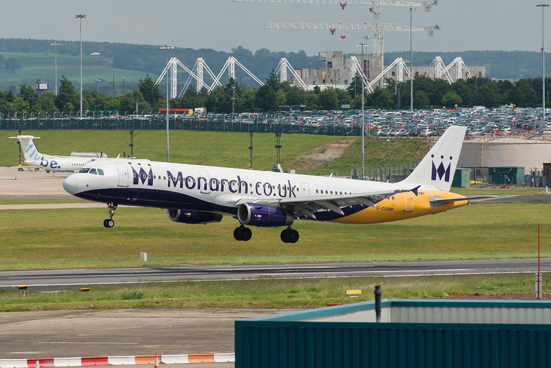 GOZBM A321 Monarch