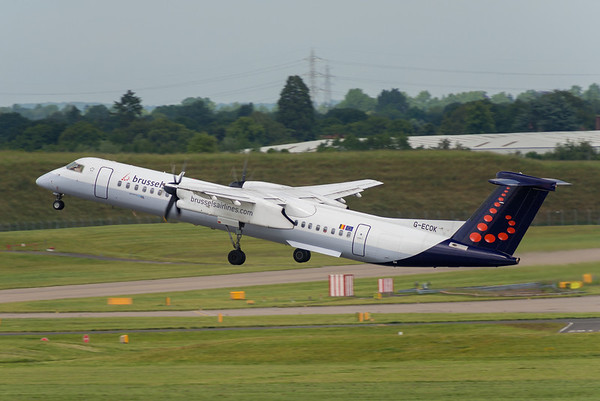 GECOK DHC8 flybe/Brussels Airlines