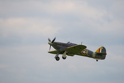 Sea Hurricane departing