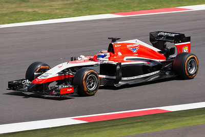 Marussia at Speed