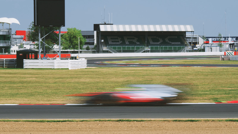 The BRDC Grandstand