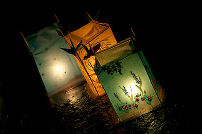 Lanterns on the shore