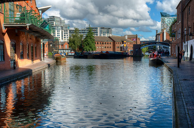 Gas Street Basin and Marina