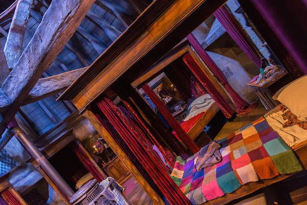 The Gryffindor Dormitory