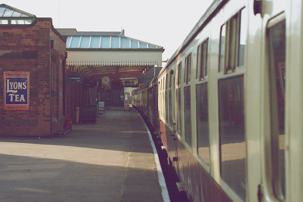 Platform 2 and our carriages