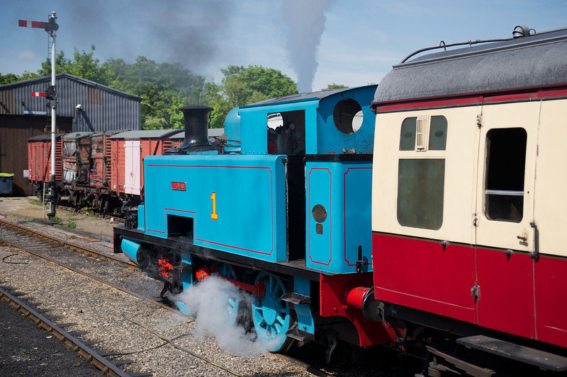 Thomas prepares to depart