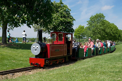 Trains Rides at Ferry Meadows