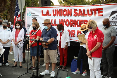 Los Angeles Unions' Food Giveaway