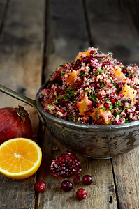 Cranberry Orange Quinoa Salad