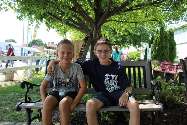 CAMDEN CHAFFEE | THE GOSHEN NEWS<br /> Cousins Daniel and Reed Kinsey