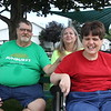 AIMEE AMBROSE | THE GOSHEN NEWS <br /> (from left) David Coy, Susan Coy and Kim Coy, all of Syracuse