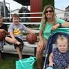 AIMEE AMBROSE | THE GOSHEN NEWS <br /> (from left) Jacob Griffith, 9, Goshen; Brett Cornell, 7, Goshen; Janette Griffith, Goshen; and Braylee Cornell, Goshen
