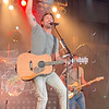 KRIS MUELLER | THE GOSHEN NEWS<br /> Country music singer Jake Owen performs for fans at the Elkhart County 4-H Fair Monday night.