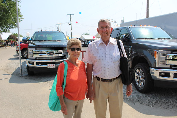 CAMDEN CHAFFEE | THE GOSHEN NEWS<br /> Lowell and Fern Maust