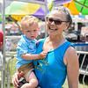 BEN MIKESELL | THE GOSHEN NEWS<br /> Beth North, of Mishawaka, with grandson Jackson, 2, of Granger.