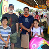 AIMEE AMBROSE | THE GOSHEN NEWS <br /> (from left) Silas Martin, 10, Cory Martin, Angel Guerra, Lizeth Guerra, all from Goshen