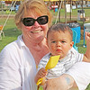 JOHN KLINE | THE GOSHEN NEWS<br /> Ruth Ann White, Goshen, with great-grandson Gaara Alcocer, 1