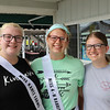 JOHN KLINE | THE GOSHEN NEWS<br /> Alexis Griman, Elkhart, with Andelisia and Amanda Henry, both of Osceola