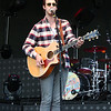 KRIS MUELLER | THE GOSHEN NEWS<br /> Troy Cartwright plays to a packed grandstand just before Jake Owen, Monday night at the Elkhart Country 4-H Fair.