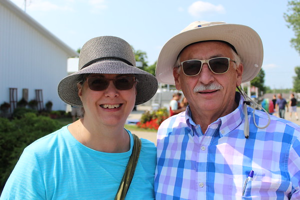 CAMDEN CHAFFEE | THE GOSHEN NEWS<br /> John and Jeanette Lymbermer