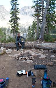 Chris at Cramer Lake