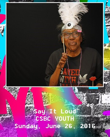 """""""Say it Loud"""",CSBC Youth"""