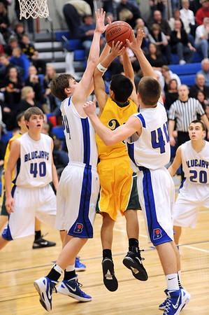 Boys Varsity Basketball @ Bondurant 2011-2012 164