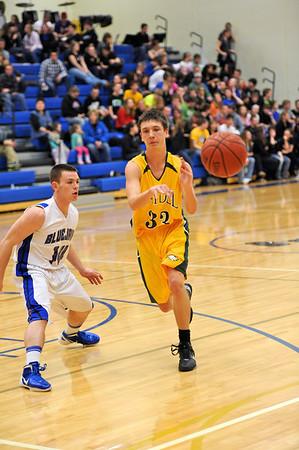 Boys Varsity Basketball @ Bondurant 2011-2012 137