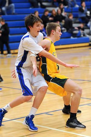 Boys Varsity Basketball @ Bondurant 2011-2012 150