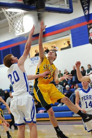 Boys Varsity Basketball @ Perry 2011-2012 045
