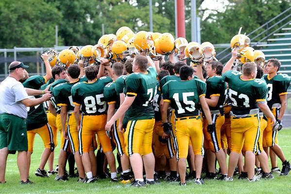 Saydel Football Green & Gold Game 2011 166